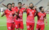 گزارش تصویری بازی تراکتور الشارجه
